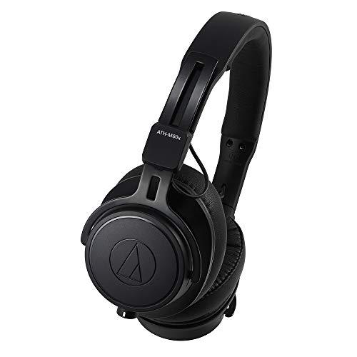 Audio-Technica ATH-M60X cuffia Intraurale Padiglione auricolare Nero Strumenti e accessori musicali