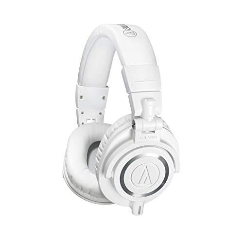 Audio Technica Pro ATH-M50XWH Cuffie Monitor Professionali, Bianco Strumenti e accessori musicali