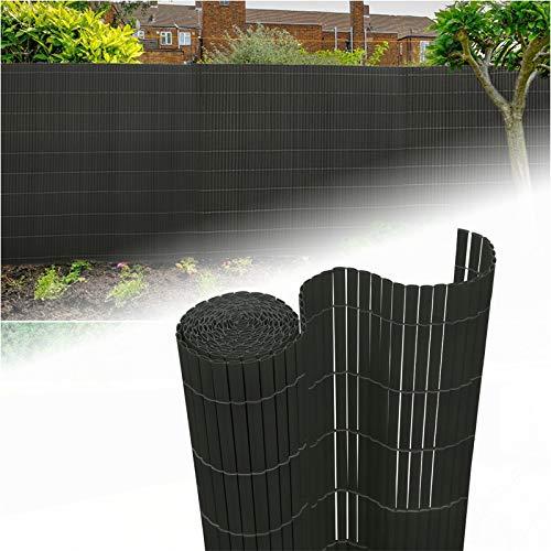 Aufun PVC Recinzione paravista per Giardino, Balcone e terrazza Canniccio Protezione Tappetino Frangivista Frangivento… Casa e giardino