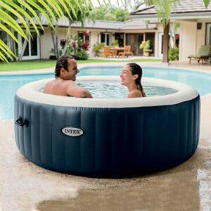 Intex Piscina Spa Idromassaggio Bubble Massage 196X71 Cm 4 Posti da Esterno con Accessori Casa e giardino