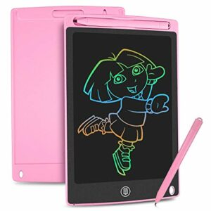 HOMESTEC Tavoletta Grafica LCD con Display Colorato 8,5 Pollici, Tavoletta Scrittura da Disegno Cancellabile con Scheda… Informatica