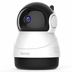 [Nuova Versione] Victure 1080P Telecamera WiFi di Sorveglianza, Videocamera Interna con Rilevamento del Suono e del… Sicurezza e videosorveglianza
