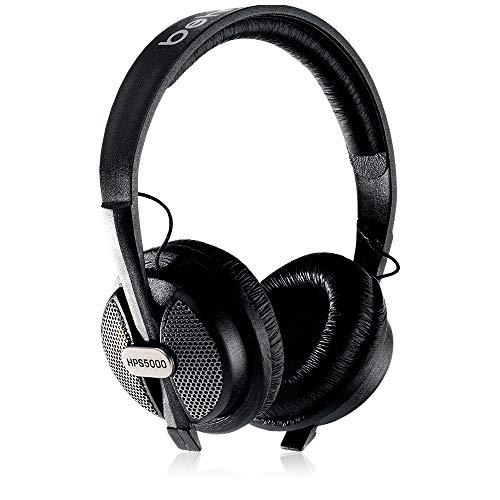 Behringer HPS5000 – Cuffia professionale da studio con auricolari ovale, Nero Strumenti e accessori musicali