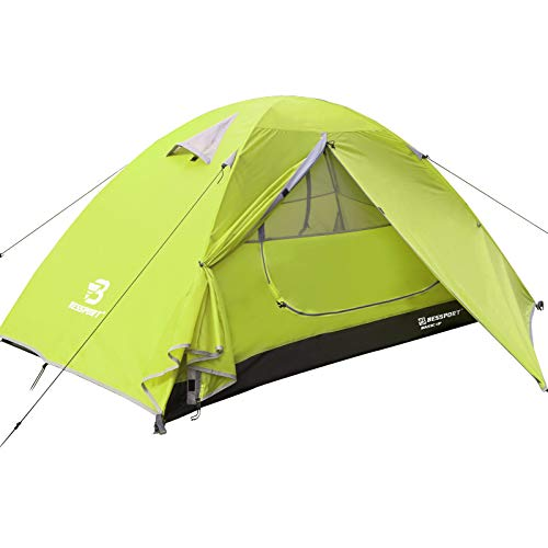 Bessport, tenda da campeggio ultraleggera, impermeabile, 3 – 4 stagioni, tenda a cupola istantanea, per trekking… Campeggio e trekking