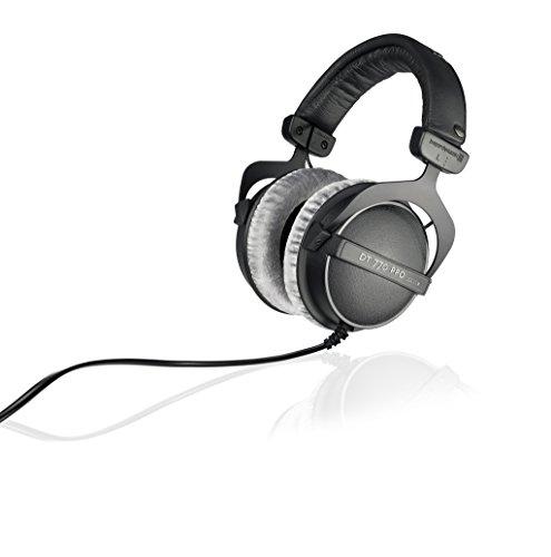 Beyerdynamic DT 770 PRO 250 Ohm Cuffie da Studio, Cavo: 3m, 5 – 35.000 Hz, Nero Strumenti e accessori musicali