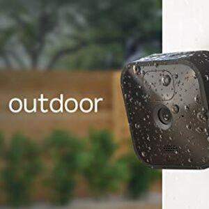 Blink Outdoor, Videocamera di sicurezza in HD, senza fili, resistente alle intemperie, batteria autonomia 2 anni… Sicurezza e videosorveglianza