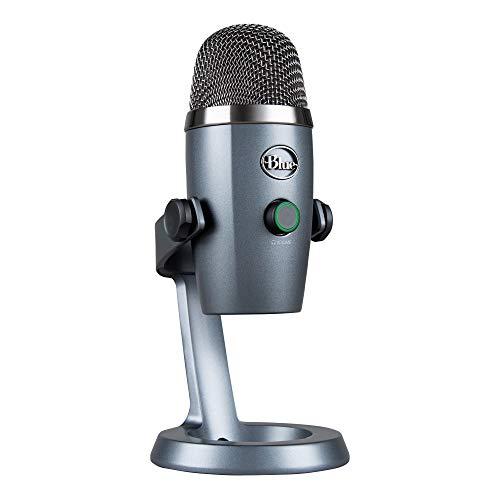 Blue Yeti Nano Microfono a Condensatore USB Professionale, 2 Pattern Polari, con effetti vocali Blue VO!CE, Compatto… Strumenti e accessori musicali