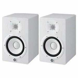 HS7 W – coppia monitor near field biamplificati con sistema bass reflex a 2 vie, woofer da 6,5″, 95 watt ( colore bianco) Offerte e sconti
