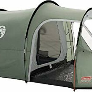 Coleman Coastline 3 Plus, Tenda a 3 Posti, Tenda a Tunnel da 3 Persone, Tenda da Campeggio, Tenda da Trekking Leggera… Campeggio e trekking