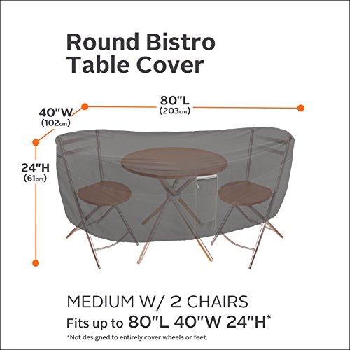 Copertura per tavolinetto e gruppo di sedie da bistro, Ravenna di Classic Accessories Casa e giardino