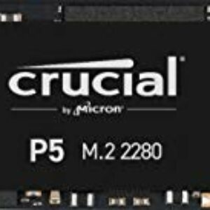 Crucial P5 500GB CT500P5SSD8 SSD Interno-Fino a 3400 MB/s (3D NAND, NVMe, PCIe, M.2, 2280SS) Best Sellers
