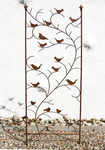 DanDiBo Aiuto-Arrampicata con Uccello 120705 in Metallo Alt.-150cm largh. 50Cm Aiuto-Arrampicata Casa e giardino