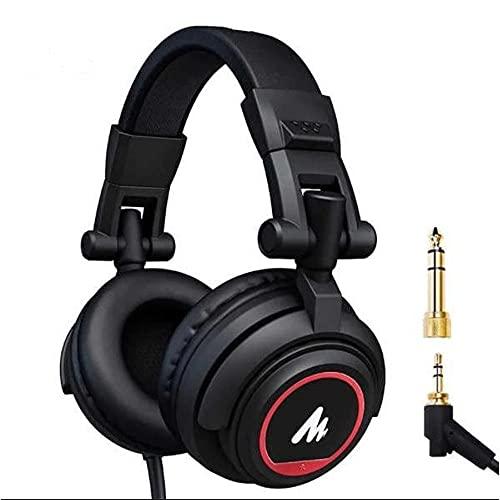 Driver da 50 mm tramite auricolari MAONO AU-MH601S Studio Stereo Monitor Cuffie con dorso chiuso per musica, DJ, Podcast… Strumenti e accessori musicali