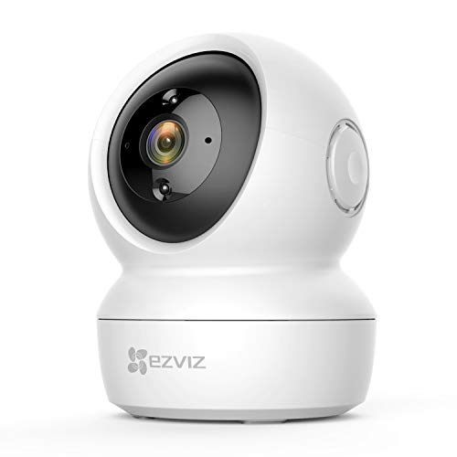 EZVIZ C6N Telecamera Wi-Fi Interno 1080p Videocamera Sorveglianza Interno Pan/Tilt/Zoom Compatibile con Alexa, Rotazione…