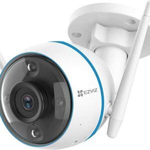 EZVIZ CTQ3N Telecamera WiFi Esterno 1080p, Videocamera Sorveglianza Esterno WiFi con Visione Notturna a Colori 30m, IP… Sicurezza e videosorveglianza