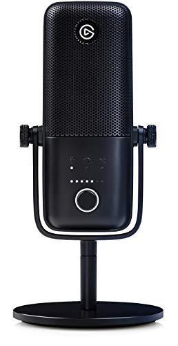 Elgato Wave:3 Microfono USB a Condensatore e Soluzione di Mixaggio Digitale, Tecnologia Anti-Clipping, Disattivazione… Strumenti e accessori musicali