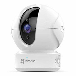 EZVIZ C6CN 1080p Telecamera di Sorveglianza, 360° WiFi Videocamera Interno, Audio Bidirezionale, Maschera Intelligente… Sicurezza e videosorveglianza