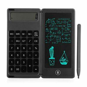 Aibecy Calcolatrice pieghevole e tavoletta da scrittura LCD da 6 pollici Blocco da disegno digitale Display con penna… Informatica