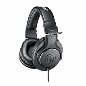 Audio Technica Pro ATH-M20X Cuffie Monitor Professionali, Nero Strumenti e accessori musicali