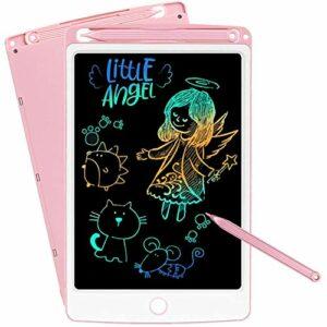 SCRIMEMO Colorato Tavoletta Grafica LCD Scrittura Digitale 10 Pollice, Elettronica Lavagna Cancellabile Tavolo da… Informatica