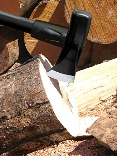 Fiskars Mazza scure X46, 2 en 1: Ascia e Mazza, Lama in acciaio temprato/Manico in plastica rinforzata con fibra di… Giardino e giardinaggio