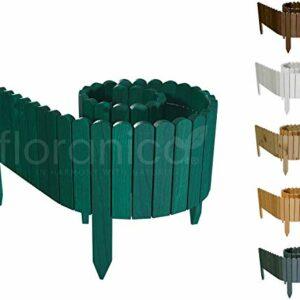 Dove acquistare Floranica® Bordura Rollborder Recinto in Legno   srotolatile della 203 cm (accorciato)   dei paletti   Giardini…