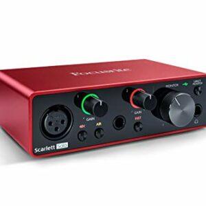 Dove acquistare Focusrite MOSC0024 Scarlett Solo 3rd Gen – Interfaccia audio USB da 2 ingressi e 2 uscite, Chitarra/Basso