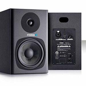 Fostex PM0.5dB Monitor da Studio Professionale da 5″, 35 e 18 Watt, Nero Monitor da studio