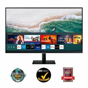 "Samsung Monitor M5 da 32"", 16:9, Full HD, Smart TV (Amazon Video, Netflix), Air-play e Mirroring, Office 365, Wireless… Informatica"