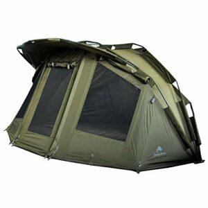 CampFeuer – Bivvy per 2 persone, tenda per carpe, riparo da pesca, colore: verde oliva Campeggio e trekking