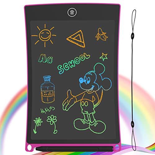 GUYUCOM Tavoletta per Scrittura LCD Schermo da 8,5 Pollici Schermo colorato Doodle Tavolo da Disegno Tavoletta Grafica… Informatica