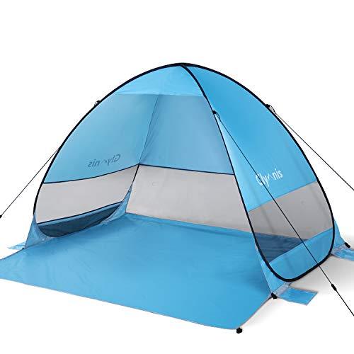 Dove acquistare Glymnis Tenda da Spiaggia Pop-up Portatile Tenda Istantanea per 3-5 Persone, Protezione Solare UPF 50+, Include Borsa…