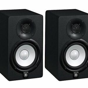 HS7 K – coppia monitor near field biamplificati con sistema bass reflex a 2 vie, woofer da 6,5″, 95 watt ( colore nero) Monitor da studio