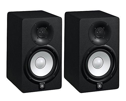 HS7 K – coppia monitor near field biamplificati con sistema bass reflex a 2 vie, woofer da 6,5″, 95 watt ( colore nero) Strumenti e accessori musicali