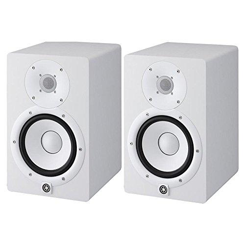 HS7 W – coppia monitor near field biamplificati con sistema bass reflex a 2 vie, woofer da 6,5″, 95 watt ( colore bianco) Strumenti e accessori musicali