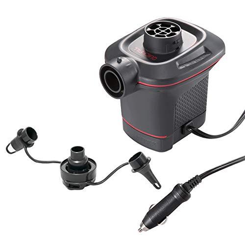 Intex 66636 Pompa Elettrica per Gonfiaggio/Sgonfiaggio 12 volt Campeggio e trekking