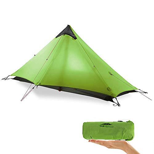 KIKILIVE Nuovo LanShan Outdoor Ultralight Tenda da Campeggio 1Persone / 2 Persone Mesh Tent Shelter -Perfetto per Il… Campeggio e trekking