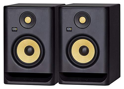KRK ROKIT RP5 G4 – Monitor da studio, set da 2 Strumenti e accessori musicali