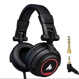 Dove acquistare Driver da 50 mm tramite auricolari MAONO AU-MH601S Studio Stereo Monitor Cuffie con dorso chiuso per musica, DJ, Podcast…