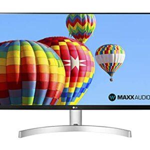 LG 27ML600S Monitor 27″ FULL HD LED IPS, 1920×1080, 1ms MBR, AMD FreeSync 75Hz, Audio Stereo 10W, HDMI (HDCP 1.4), VGA, Uscita Audio, Flicker Safe, Bianco Informatica