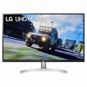 LG 32UN500 Monitor 32″ UltraHD 4K LED VA HDR 10, 3840×2160, 4ms, AMD FreeSync 60Hz, Speaker Stereo 10W, HDMI 2.0 (HDCP 2.2), Display Port 1.4, Porta AUX, Flicker Safe, Bianco Informatica