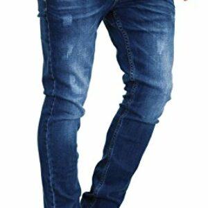 Dove acquistare MERISH 1507 – Jeans da uomo slim fit, elasticizzati, in denim