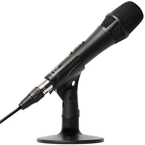 Marantz Professional M4U – Microfono USB con Scheda Audio, Cavo Microfonico e Supporto da Tavolo per Cattura Audio… Strumenti e accessori musicali