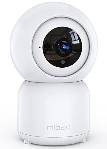 Mibao 1080P Telecamera Sorveglianza Wifi,videocamera IP Interno Wireless con Visione Notturna,Audio Bidirezionale… Sicurezza e videosorveglianza
