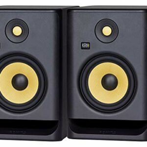 Monitor audio da studio KRK ROKIT RP7 G4, set da 2 Monitor da studio