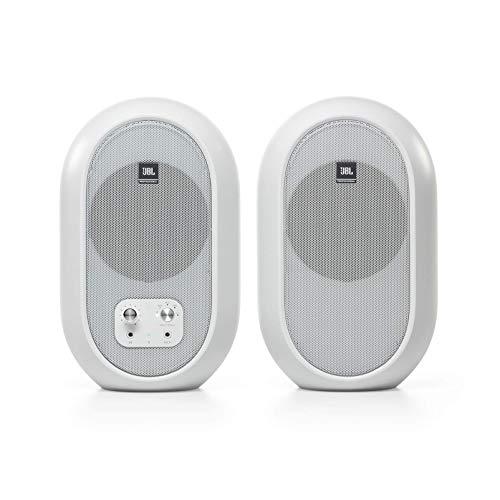 Monitor di riferimento desktop compatto serie 104-BT JBL Professional 1 con Bluetooth, bianco, venduto in coppia… Strumenti e accessori musicali