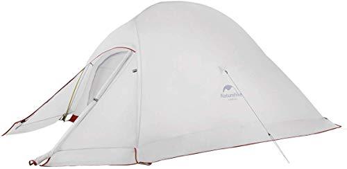 Naturehike Nuovo Cloud-up 2 Persona Tenda Campeggio Aggiornata Doppio Strato Tenda Tende da Escursioni Campeggio e trekking