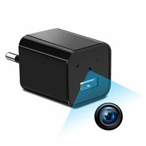 Supoggy Mini telecamera spia nascosta telecamera HD Nanny Full HD 1080P piccola, registrazione video e rilevamento del… Sicurezza e videosorveglianza