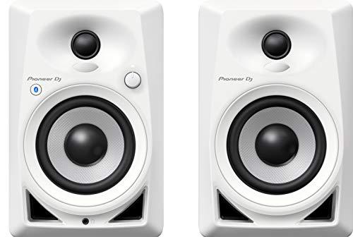 Pioneer DJ, DM-40BT-W, Coppia di monitor Bluetooth, bianco Strumenti e accessori musicali