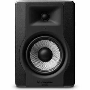M-Audio BX5 D3 – Cassa Monitor da Studio Attiva da 100 W con Woofer da 5″ e Controllo Acoustic Space, Riferimento per Produzione Musicale e Mixaggio Monitor da studio